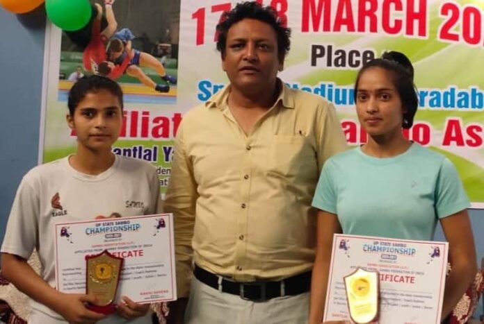 हरदोई : बेटियों ने हरियाणा में दिखाए जौहर, झटका स्वर्ण पदक