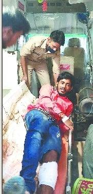 हिस्ट्रीशीटर मिर्ची मुठभेड़ में गिरफ्तार