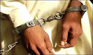 डकैती में वांछित 25 हजार के इनामी बदमाश को पुलिस ने किया गिरफ्तार