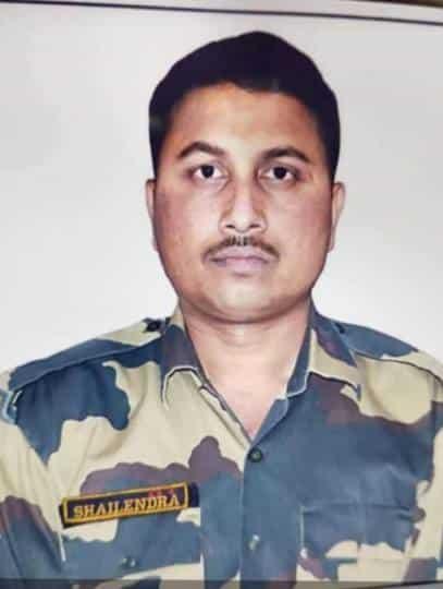देश की सीमा की रक्षा करते करते कछौना क्षेत्र का लाल शैलेंद्र कुमार वर्मा कुर्बान हो गया