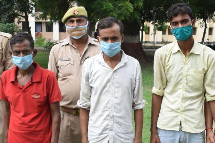 चोरी का हुआ खुलासा, 3 अंतर्जनपदीय चोर गिरफ्तार