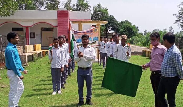 राष्ट्रीय सेवा योजना के अंतर्गत फ्रीडम रन का हुआ आयोजन,स्वयंसेवकों ने क्रांतिवीरों को याद कर लगाई दौड़