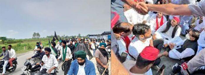 लखीमपुर :मरने वाले सभी के परिजनों को मुआवजे का एलान,अखिलेश यादव के खिलाफ मुकदमा दर्ज